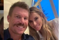 David Warner Says I Love You To Wife Candice In Telugu