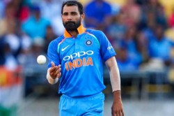 On This Day In 2019 Pacer Mohammed Shami Became Second Indian To Take World Cup Hat Trick