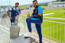 Wtc Final Team India Players Touches Down Southampton In Uk