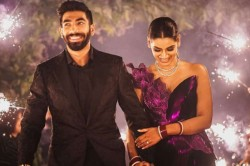 Jasprit Bumrah Brutally Trolled For Smiling With Wife Sanjana Ganesan After Wtc Final Loss