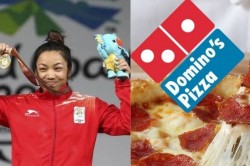 Dominos Announces Life Time Free Pizza For Mirabai Chanu After Wins Silver Medal At Tokyo Olympics