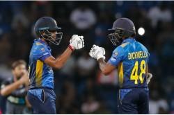 Sri Lanka Cricket Banned Dickwella Mendis And Gunathailaka For One Year Fined 10 Million Rupees