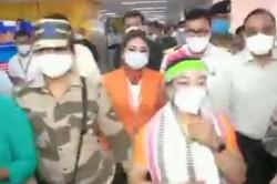 Tokyo Olympics Silver Medallist Mirabai Chanu Arrives In India