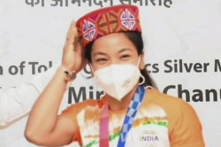 Olympics 2021 Mirabai Chanu Said I Have No Time To Rest Stayed At Home 10 Days Only