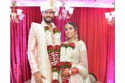 India Allrounder Shivam Dube Ties Knot To His Longtime Girlfriend Ajum Khan