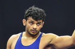 Indias Wrestler Deepak Punia Loses To Uas S David Taylor In Mens Freestyle 86kg Semi Final