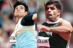 India S Neeraj Chopra Vs Pakistan S Arshad Nadeem For Gold In Javelin Throw At Tokyo Olympics
