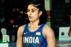 Wfi Temporarily Suspends Vinesh Phogat For Indiscipline In Tokyo Olympics