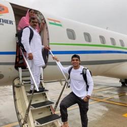 Olympics Gold Medallist Neeraj Chopra Fulfills Dream As His Parents Board Their First Flight