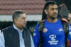 N Srinivasan Chennai Super Kings Owner Says No Csk Without Ms Dhoni And No Dhoni Without Csk