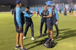 T20 World Cup 2021 Mentor Ms Dhoni Joins Indian Team