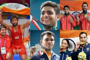 ఆసియా గేమ్స్: పతకాలు సాధించిన భారత క్రీడాకారులు (ఫోటోలు)