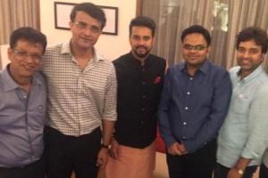 BCCI కొత్త టీమ్ ఇదే: ట్విట్టర్లో ఫోటోని షేర్ చేసిన సౌరవ్ గంగూలీ