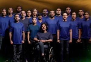 జాతీయ గీతాన్ని వీడియో రూపంలో ఆలపించిన క్రీడాకారులు