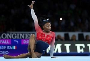 Gymnastic World Championship: చరిత్ర సృష్టించిన సిమోనా బైల్స్