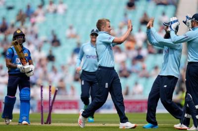 Sam Curran in Eng vs Sri lanka