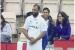 టవల్ చుట్టుకుని ఫీల్డింగ్ చేసిన భారత స్టార్ బౌలర్.. లేడీ ఫ్యాన్ రియాక్షన్ ఎలాఉందో చూడండి (వీడియో)!